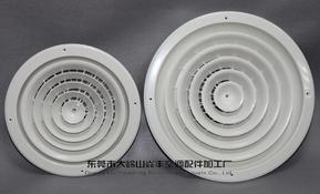 ABS塑钢风口-圆形旋转式出风口【YF101A/B】