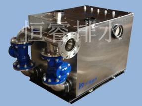 单、双系统小型污水提升器