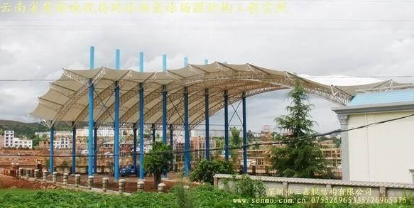 公司简介    蓝岭公司是一家从事膜结构建筑全