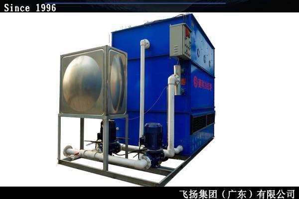 15吨不锈钢闭式冷却塔结构紧凑占地面积小
