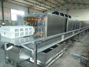 隧道式洗筐机,高压喷淋洗筐机厂家