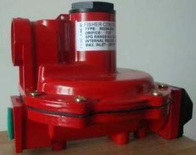 美国FISHER煤气R622H-DGJ减压阀/天然气调压器