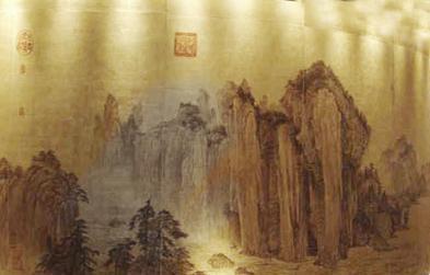 山东唯一一家专业设计制作金箔画