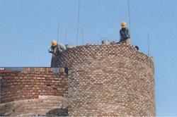 黄石烟囱新建公司【砖烟囱新建-砼烟囱滑模施工】╲100%诚信╱