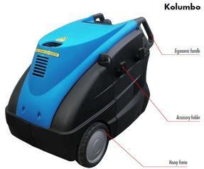 意大利乐捷牌油加热高温高压蒸汽清洗机kolumbo