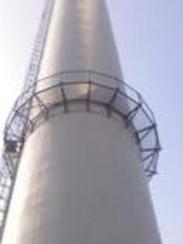 烟囱安装烟气监测平台