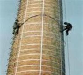 砖烟囱外壁维修