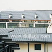 高档别墅金属屋面钛锌板YX25-430—厦门鑫嘉固金属屋面有限公司