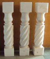 广西白螺旋雕刻柱MCS203