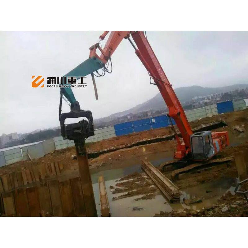 挖掘机液压打桩机震动锤