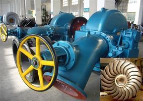 斜击式水轮发电机组生产供应