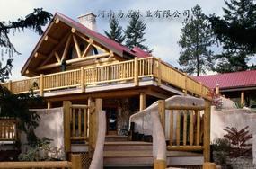 重型双层木结构房屋