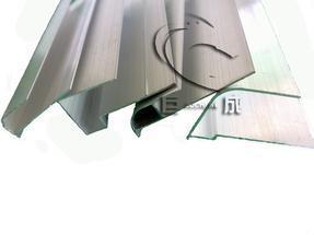 阳光板铝收边/铝封边