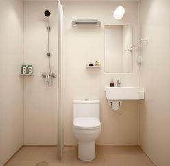 厂家供应bu1420医院酒店宾馆整体卫生间整体卫浴