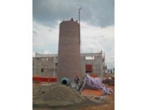 30米锅炉房砖烟囱新建公司