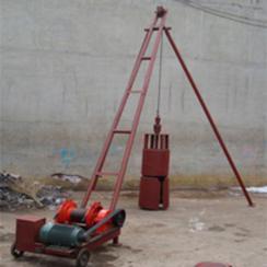农村平房用地基打桩机