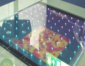 发光玻璃、智能发光玻璃、智能LED玻璃