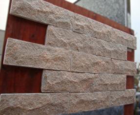 粉红色石英文化石蘑菇石FSCS-023