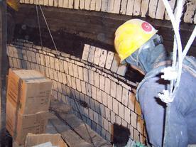 烟囱内壁耐酸碱、耐高温防腐