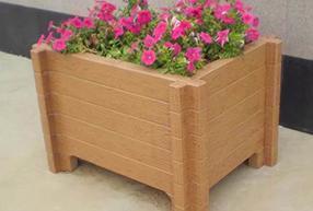 个体仿木花箱