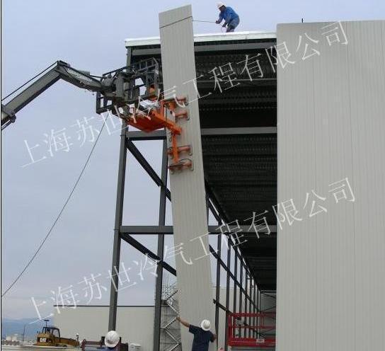 非标定制超高9米高度大型冷库
