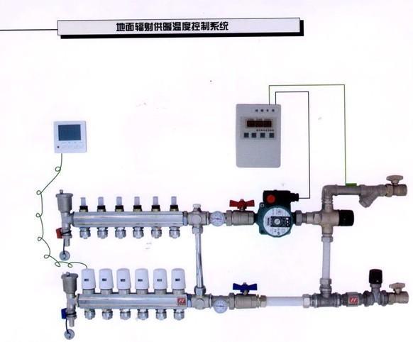 地暖温控_jyd-w1型地暖水循环温控装置