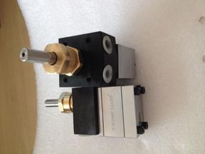 水性喷漆齿轮泵 6cc方形静电输漆齿轮泵