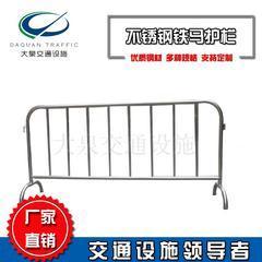 厂家定制不锈钢铁马护栏市政道路护栏隔离栏