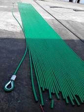 涂塑钢丝绳 镀锌涂塑钢丝绳