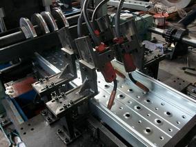 韩式船用焊接脚手板成型机