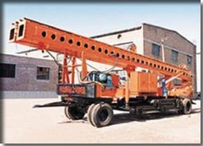 长螺旋打桩机钻孔机CFG20在西安