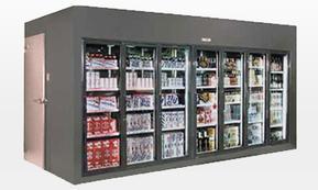 后补式冷藏柜