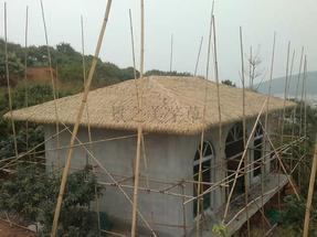 重庆成都屋顶金属仿真茅草