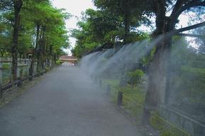 公园降温加湿器人造喷雾高压微雾加湿器