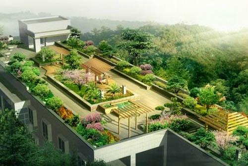 江西屋顶花园设计时怎么做好防水?