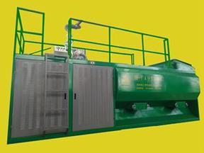 喷播绿化设备-华之睿有机土多级泵喷播机