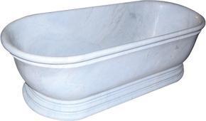白色大理石浴缸MVS036(浴缸)