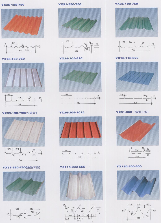 赤晓彩色压型钢板
