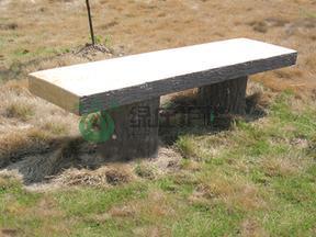 仿木凳,平板凳,仿木小品,园林小品