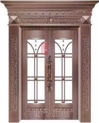 别墅铜门 上海铜门 高配满5平方米送指纹锁