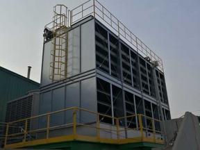 环保型开式钢板冷却塔