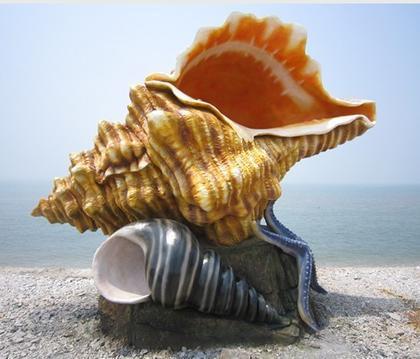 大连旅顺蛇岛雕塑案例