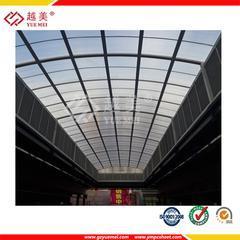 阳光板雨棚,8mm双层阳光板