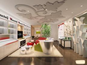 8203;郑州化妆品店装修设计要充满浪漫气息,郑州专业化妆品店装修设计公司