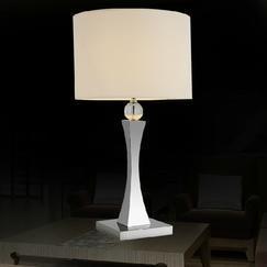 爵镁灯饰 台灯 酒店客房台灯 床头台灯 不锈钢台灯 LED台灯 现代台灯