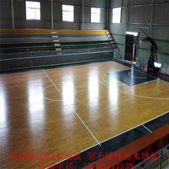 篮球场运动木地板厂家,羽毛球场体育地板