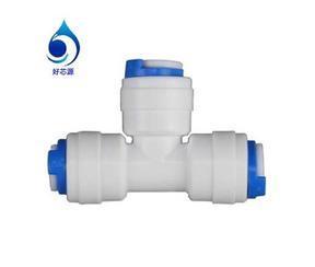 K702三通快接 净水器饮水机配件接头