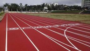 广西远洋塑胶跑道材料 全塑型塑胶跑道