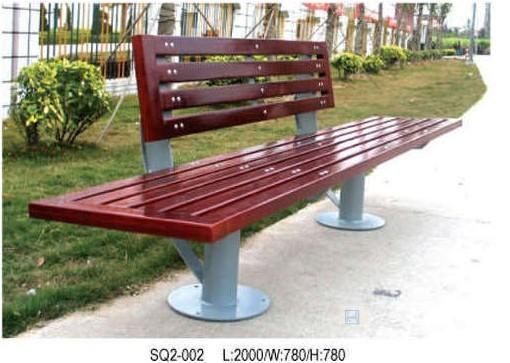 钢木结构公园椅|钢木公园休闲椅|钢木户外公园椅|钢