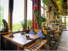 石家庄饭店餐饮休闲空间装修设计